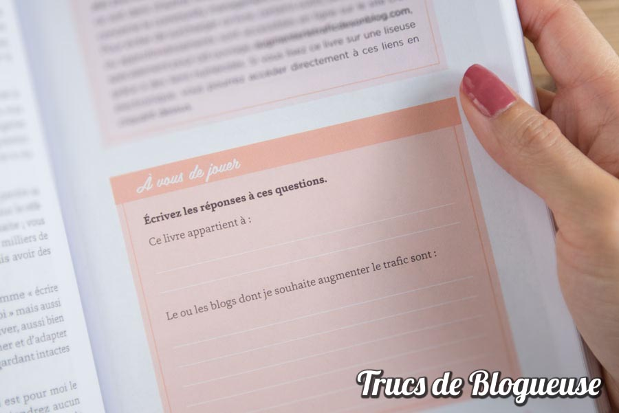 Livre Augmenter le trafic de son blog Florence Tran